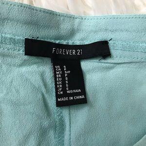 Forever 21 Skirts - mint colored skirt